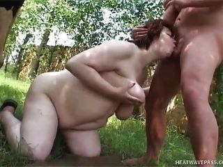 bbw wife loves milking @ phat farm