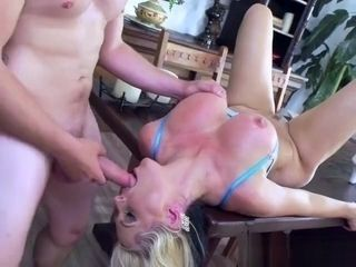 Wild Cougar Alena Croft Gets All Her Holes Plowed