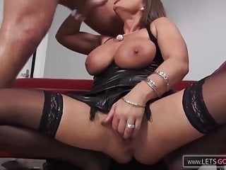 German Milf got banged by a Stranger